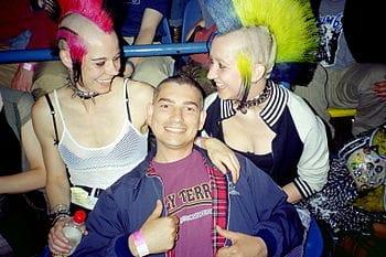English: Punk Girls Morecambe 2003