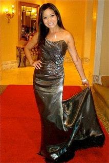 Jen Su at the Glamour Oscars 2011