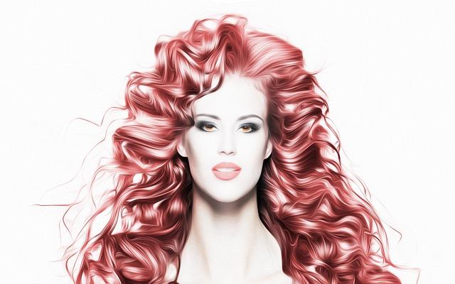 red hair photo